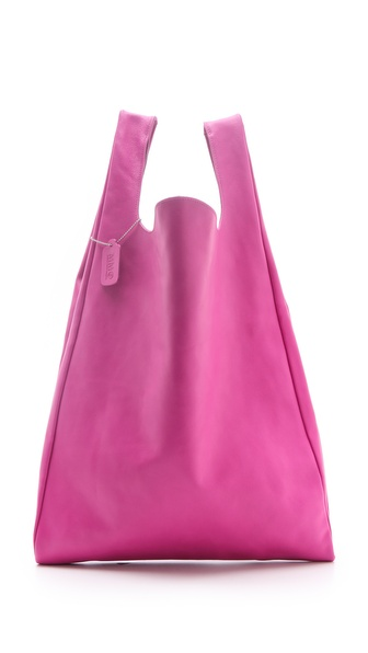 MM6 Maison Martin Margiela Leather Shopper