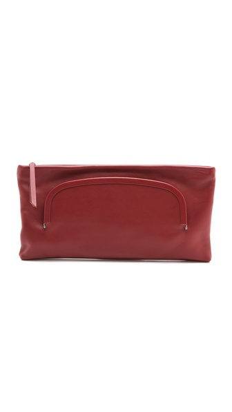 MM6 Maison Martin Margiela Leather Clutch