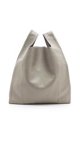 MM6 Maison Martin Margiela Large Shopper :  handbag purse style grey