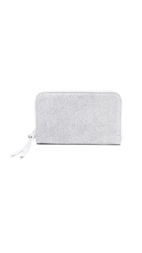 MM6 Maison Martin Margiela Texture Zip Clutch