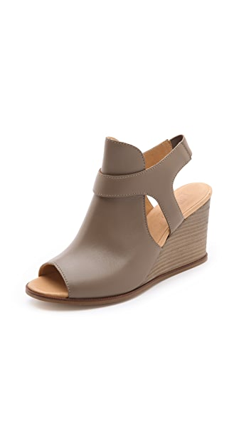 MM6 Maison Martin Margiela Sling Wedge Sandals