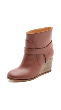 MM6 Maison Martin Margiela Wedge Booties