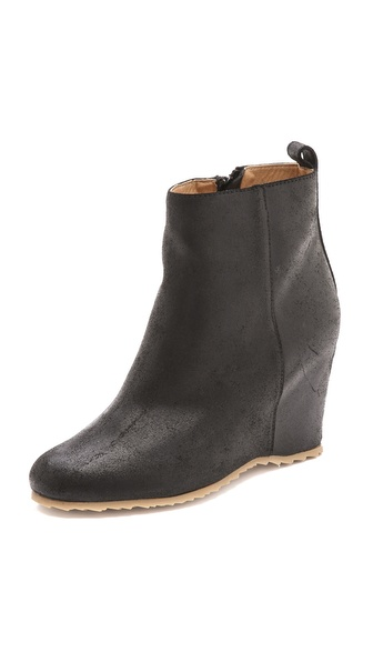 MM6 Maison Martin Margiela Wedge Heel Booties