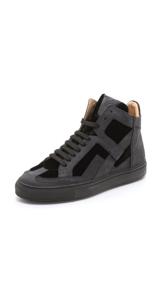 MM6 Maison Martin Margiela Lace Up Sneakers