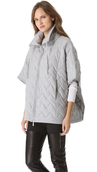 MM6 Maison Martin Margiela Quilted Poncho