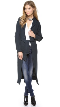 MM6 Maison Martin Margiela Long Cardigan Coat