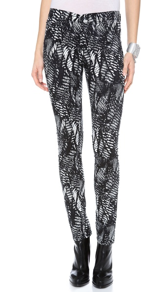 MM6 Maison Martin Margiela Printed Jeans