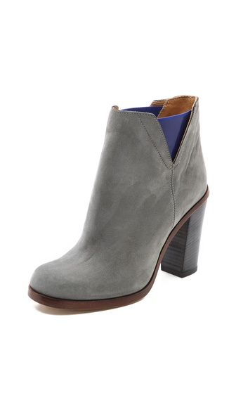 MM6 Maison Martin Margiela Contrast Inset Booties