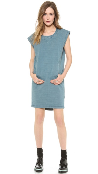 MM6 Maison Martin Margiela Crew Neck Dress