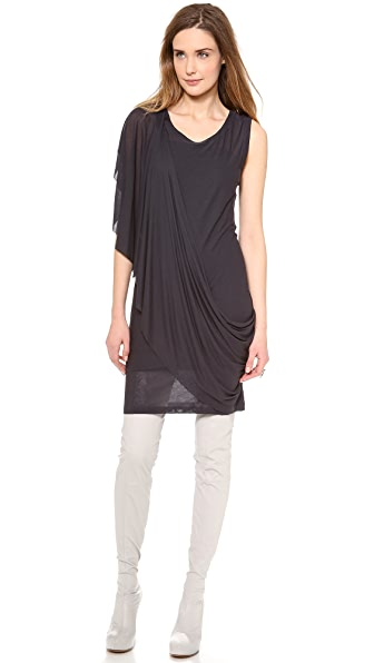MM6 Maison Martin Margiela Drape Sleeve Dress
