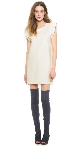 MM6 Maison Martin Margiela Leather Dress