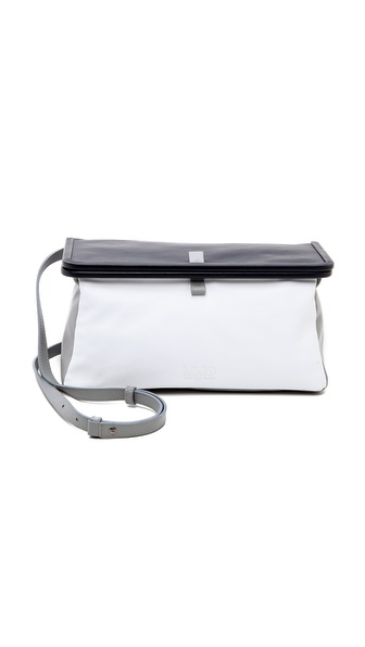 MM6 Maison Martin Margiela Leather Shoulder Bag