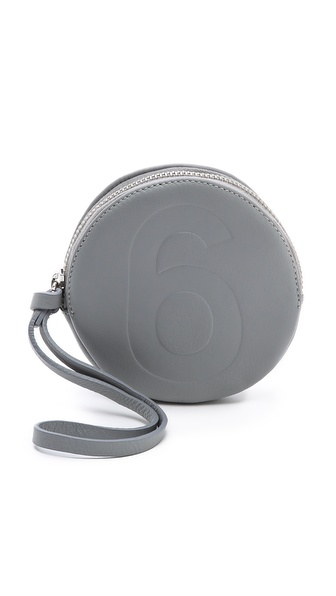 MM6 Maison Martin Margiela 6 Small Circle Clutch