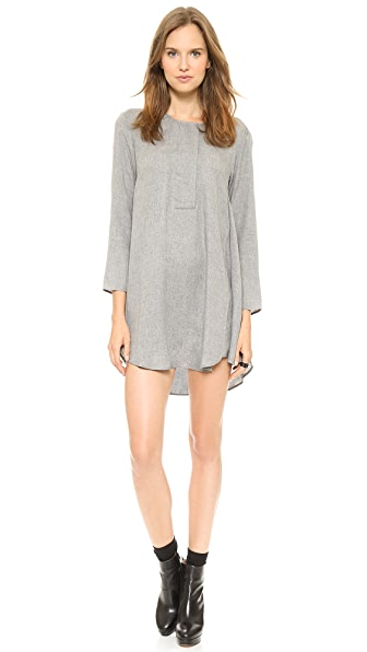MM6 Maison Martin Margiela Henley Dress