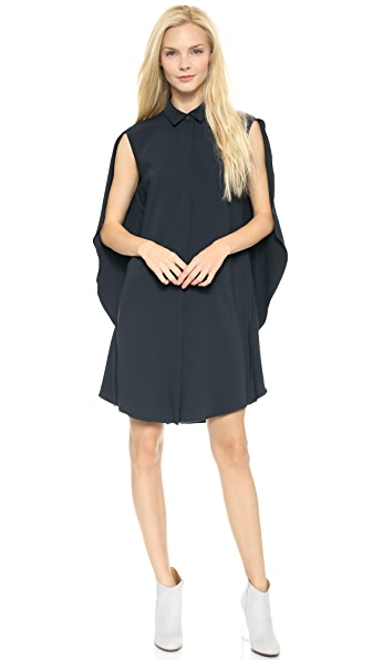 MM6 Cape Back Dress