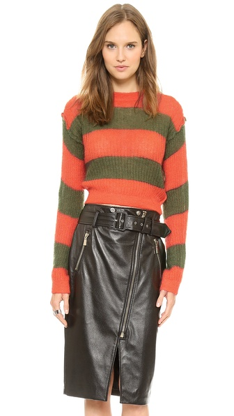 MM6 Maison Martin Margiela Striped Sweater