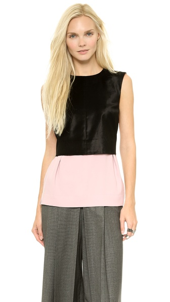 MM6 Maison Martin Margiela Layered Tuxedo Top