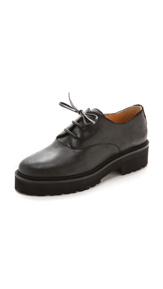 MM6 Maison Martin Margiela Flat Oxfords