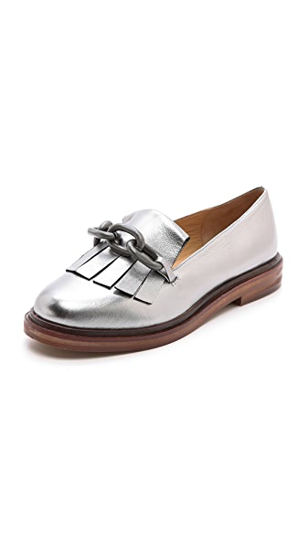 MM6 Maison Martin Margiela Loafers wtih Fringe Detail