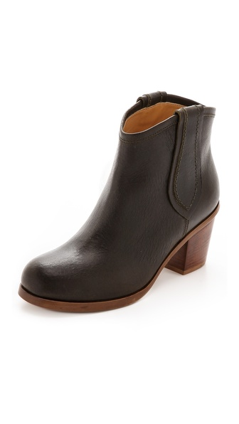MM6 Maison Martin Margiela Western Pull On Booties