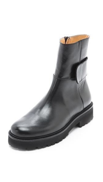 MM6 Maison Martin Margiela Flat Boots