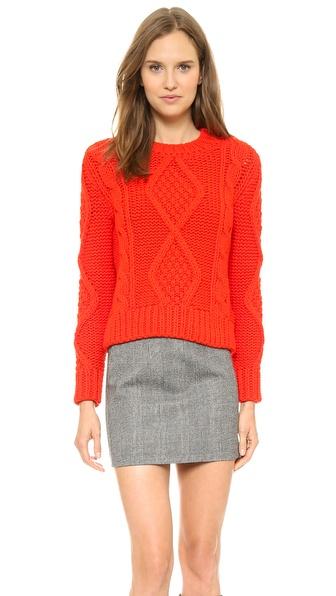MM6 Maison Martin Margiela Chunky Knit Sweater