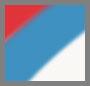 Light Grey/Crimson Red/Blue
