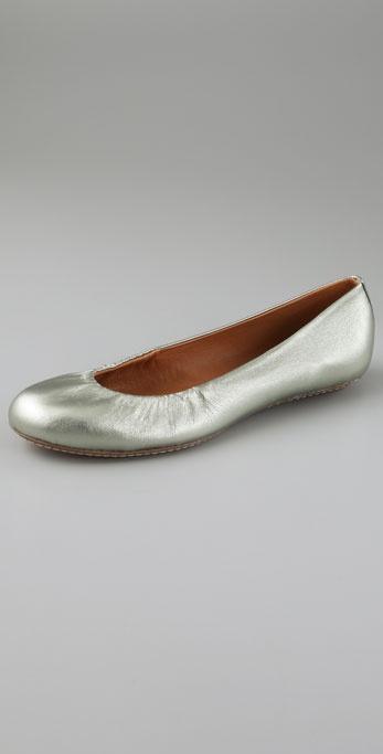 Maloles Georges Metallic Ballet Flats