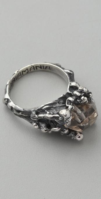 Mania Mania The Eternal Ring with Quartz