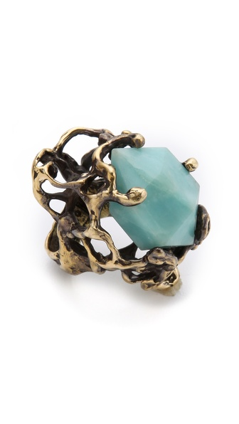 Mania Mania Immortals Amazonite Ring