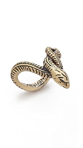 Mania Mania Serpentine Knucle Ring