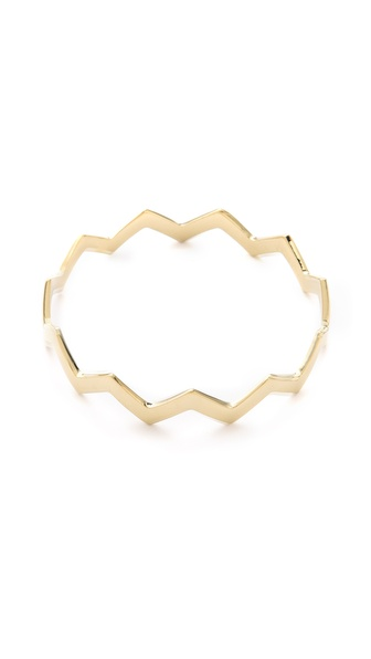 Mara Carrizo Scalise Zigzag Cuff
