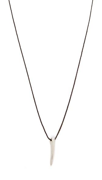 Mara Carrizo Scalise Short Horn Necklace