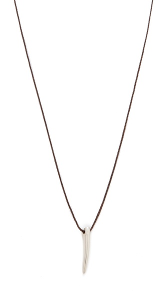 Mara Carrizo Scalise Short Horn Necklace