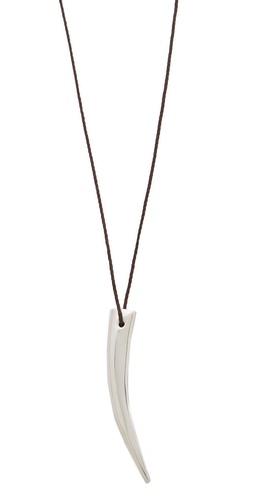 Mara Carrizo Scalise Extra Long Horn Necklace