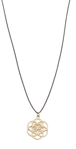 Mara Carrizo Scalise Seed of Life Necklace
