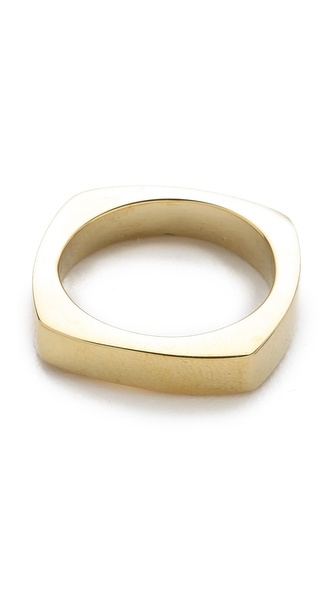 Mara Carrizo Scalise Square Band Ring