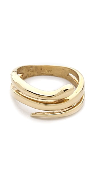 Mara Carrizo Scalise Snake Ring