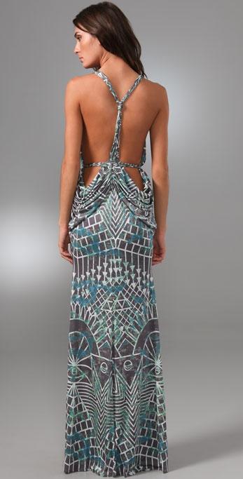 Mara Hoffman Drape Back Gown