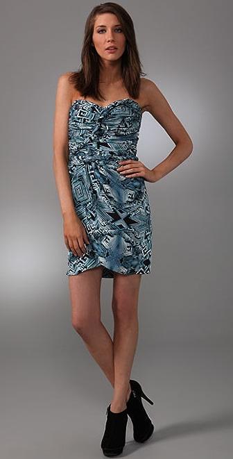 Mara Hoffman Twisted Bustier Dress