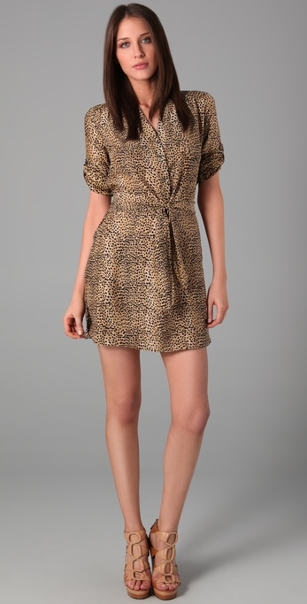 Mara Hoffman Vent Safari Dress