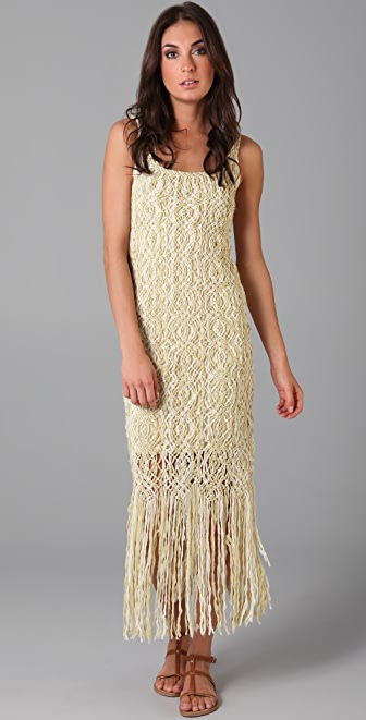 Mara Hoffman Macrame Dress