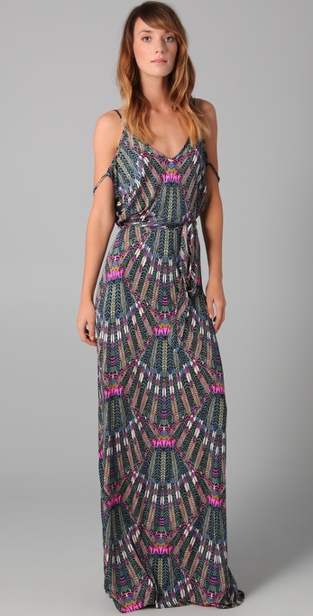 Mara Hoffman Open Back Maxi Dress