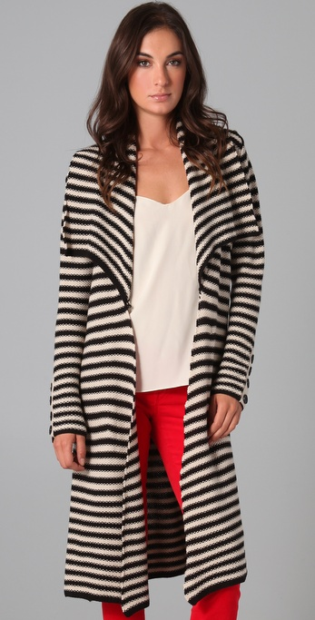 Mara Hoffman Long Wrap Cardigan
