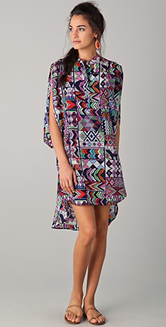 Mara Hoffman Draped Tunic Dress