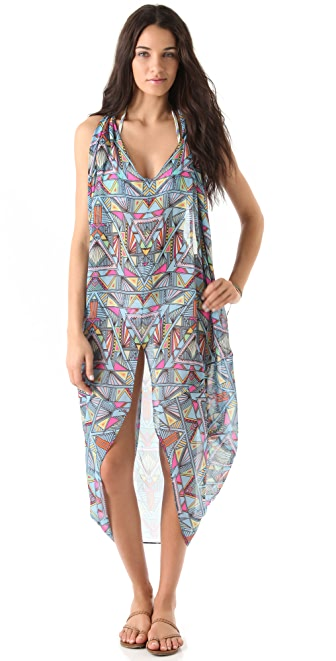 Mara Hoffman Chiffon Dashiki Cover Up