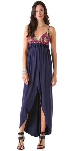 Mara Hoffman Beaded Cups Modal Dress