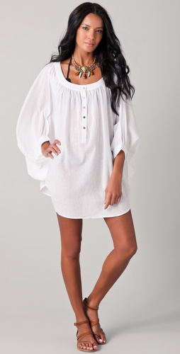 Mara Hoffman Cocoon Cover Up Tunic