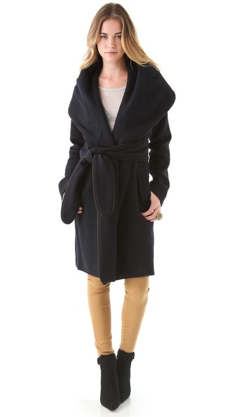 Mara Hoffman Classic Shawl Coat