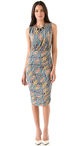 Mara Hoffman Ruched Open Back Dress